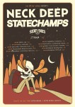 Neck Deep State Champs Tour Flyer