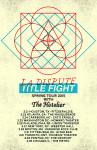 LA Dsipute tour poster