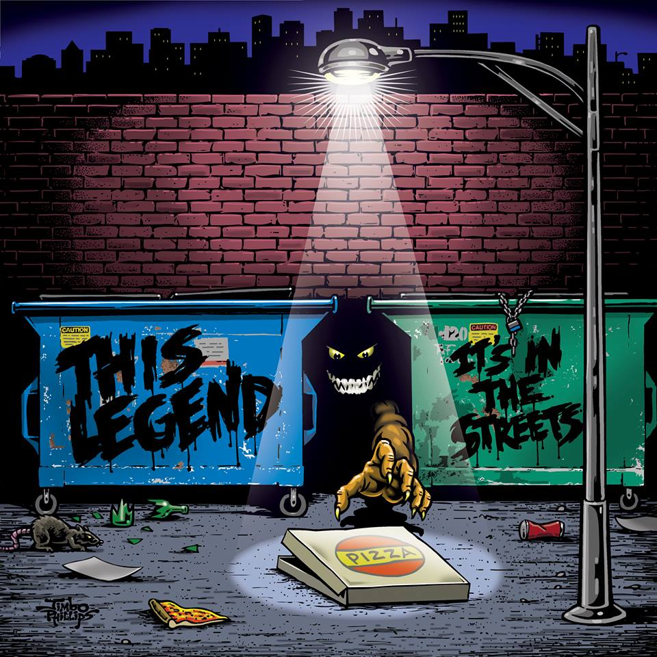 This Legend Its In The Streets Cover Art