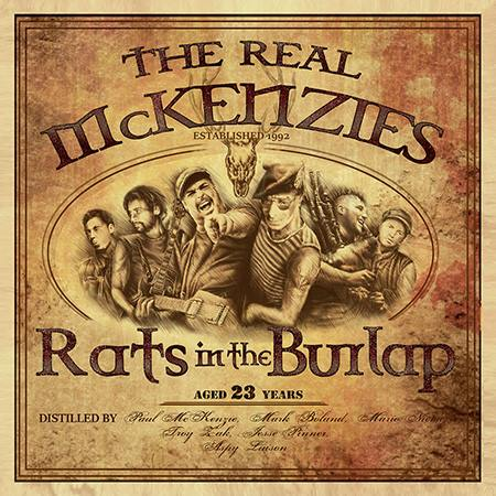 Real McKenzies Rats in the Burlap Cover Art