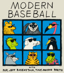 Modern Baseball 2015 tour poster