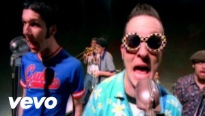 "Reel Big Fish ""Sell Out"" video still"