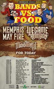 Memphis May Fire Tour Poster 2016