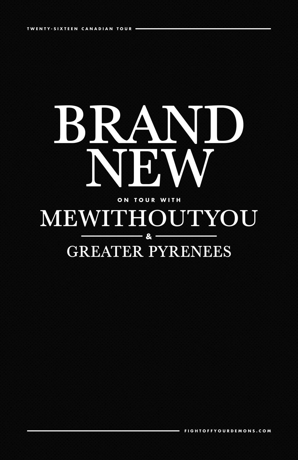 Brand New - Live in Vancouver