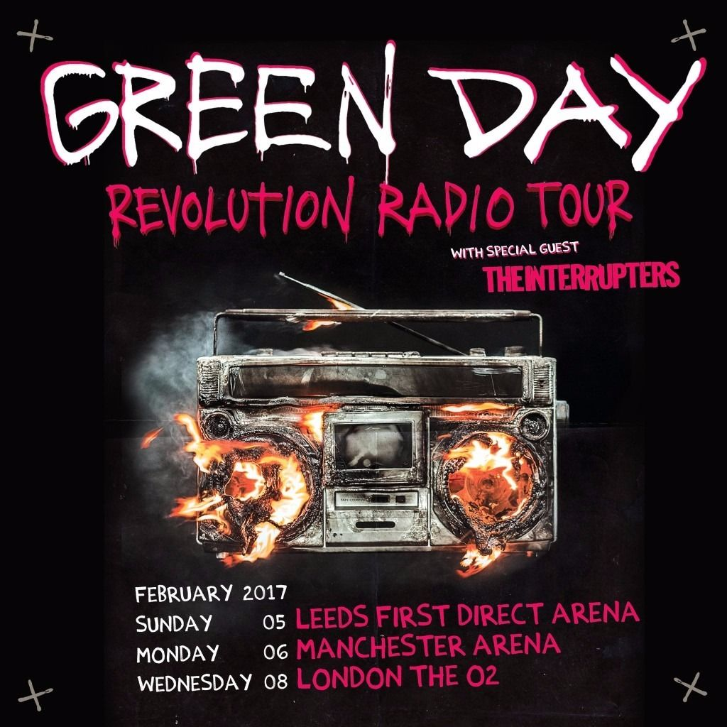 Green Day Feb 17