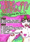 Hands Off Gretel Feb 17 Tour