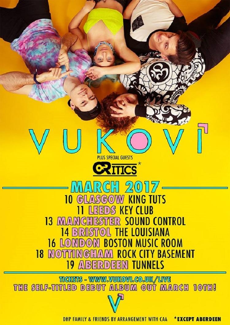 Vukovi March 17 Tour
