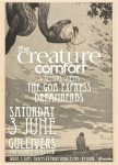 Creature Comfort Gullivers 3rd June