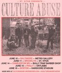Culture Abuse June US Tour