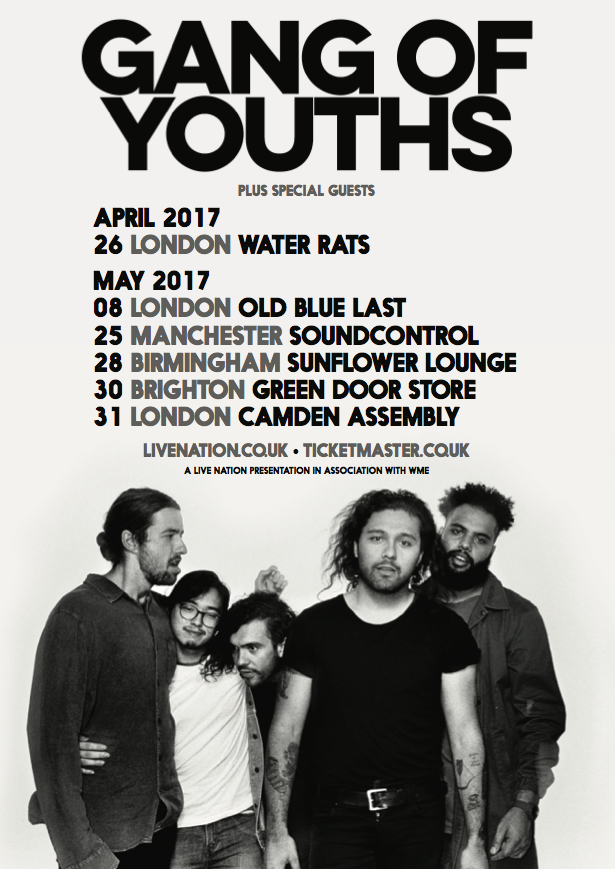 Gang Of Youths May 2017