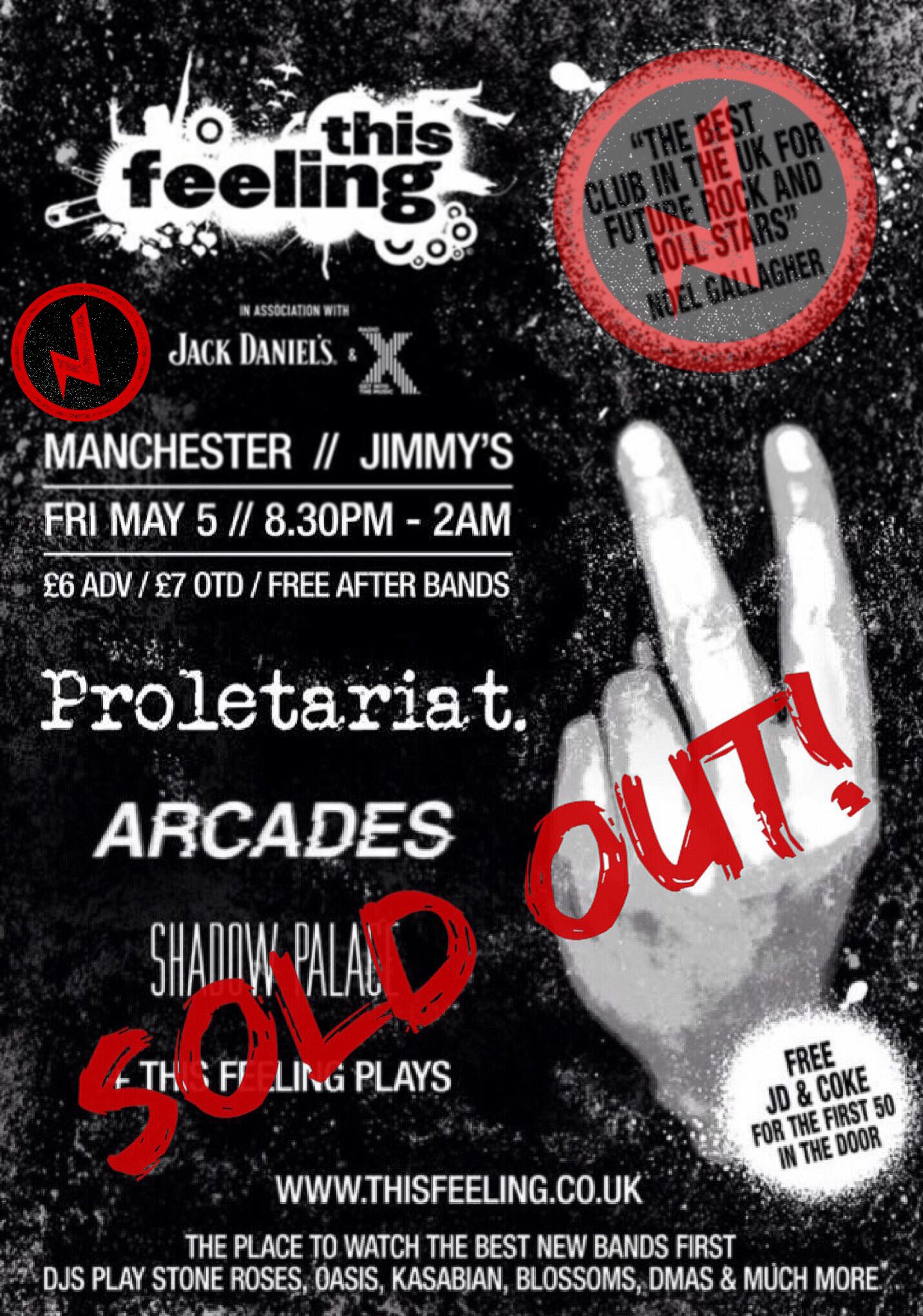 Proletariat Jimmys May 17