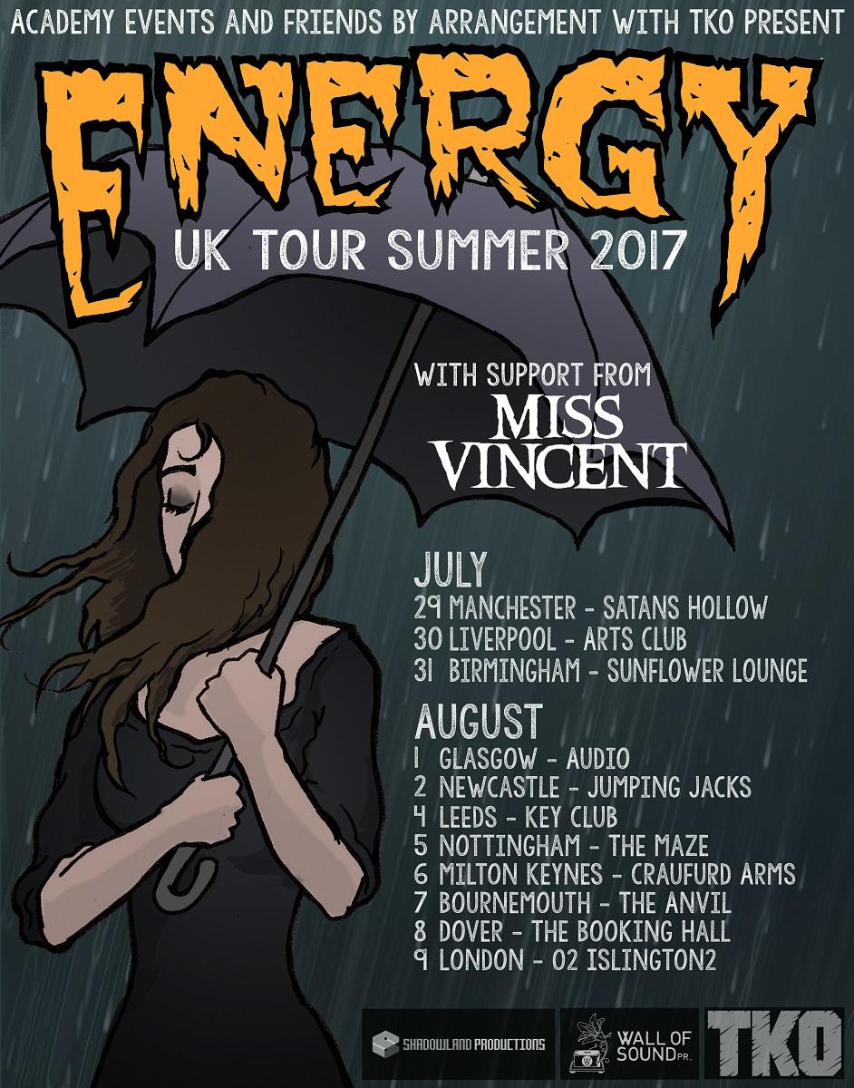 Energy UK Tour 2017
