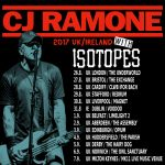 Isotopes CJ Ramone tour 17