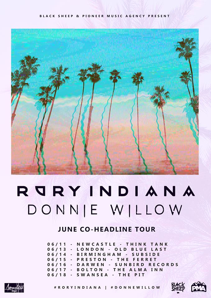 donnie Willow Tour June 17