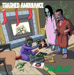 Trashed Ambulance Cover Art 2017