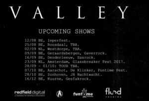 Valley Tour Dates 2017