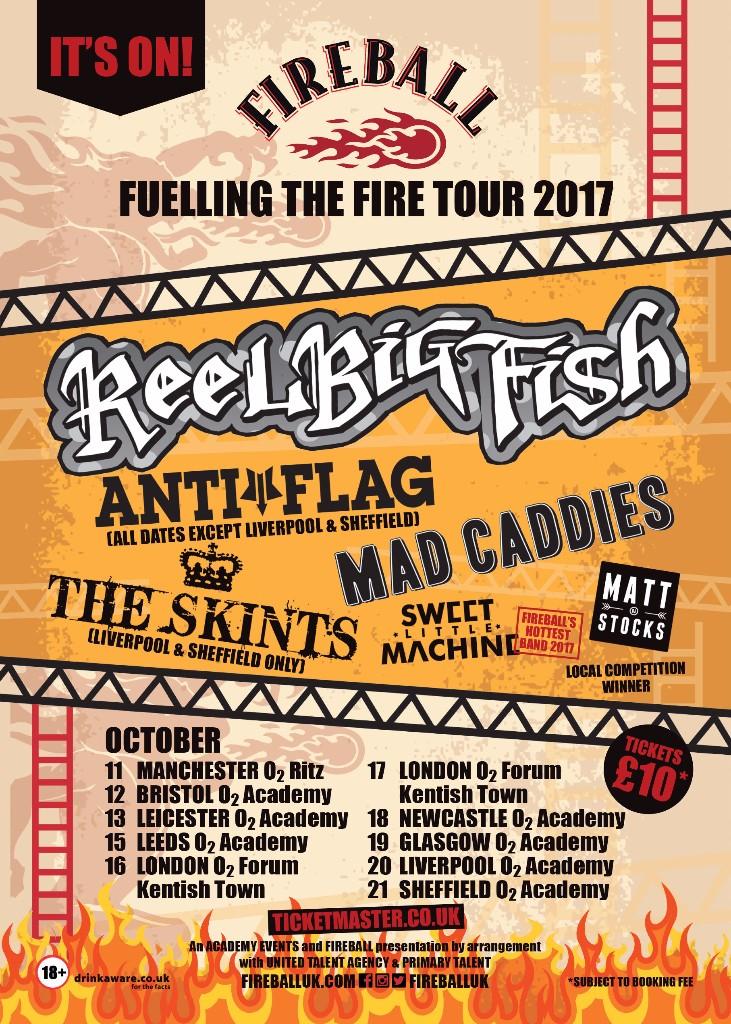 Fireball Tour Sept 17