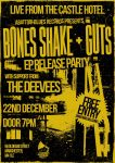 Bones Shake Release Show Dec 17
