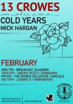 Cold Years Feb 18 Tour