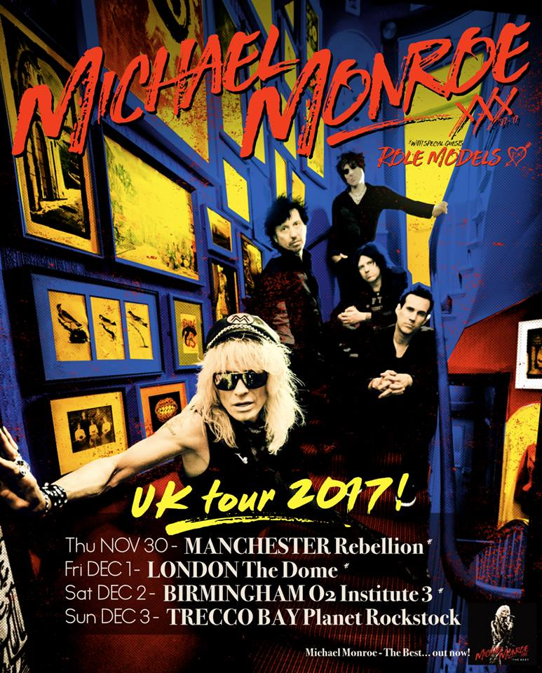 Michael Monroe UK Tour 17